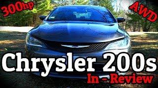 The 2016 Chrysler 200s, My 300HP AWD Rental Car
