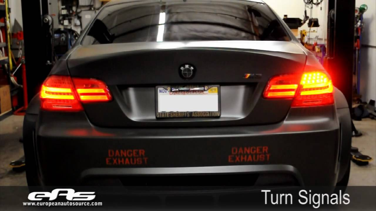 Eas E92 Lci Tail Light Coding Demo Vf Engineering E92