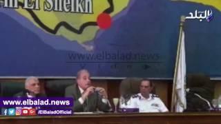 بالفيديو.. محافظ جنوب سيناء يعتذر لنائب البرلمان.. اعرف السبب