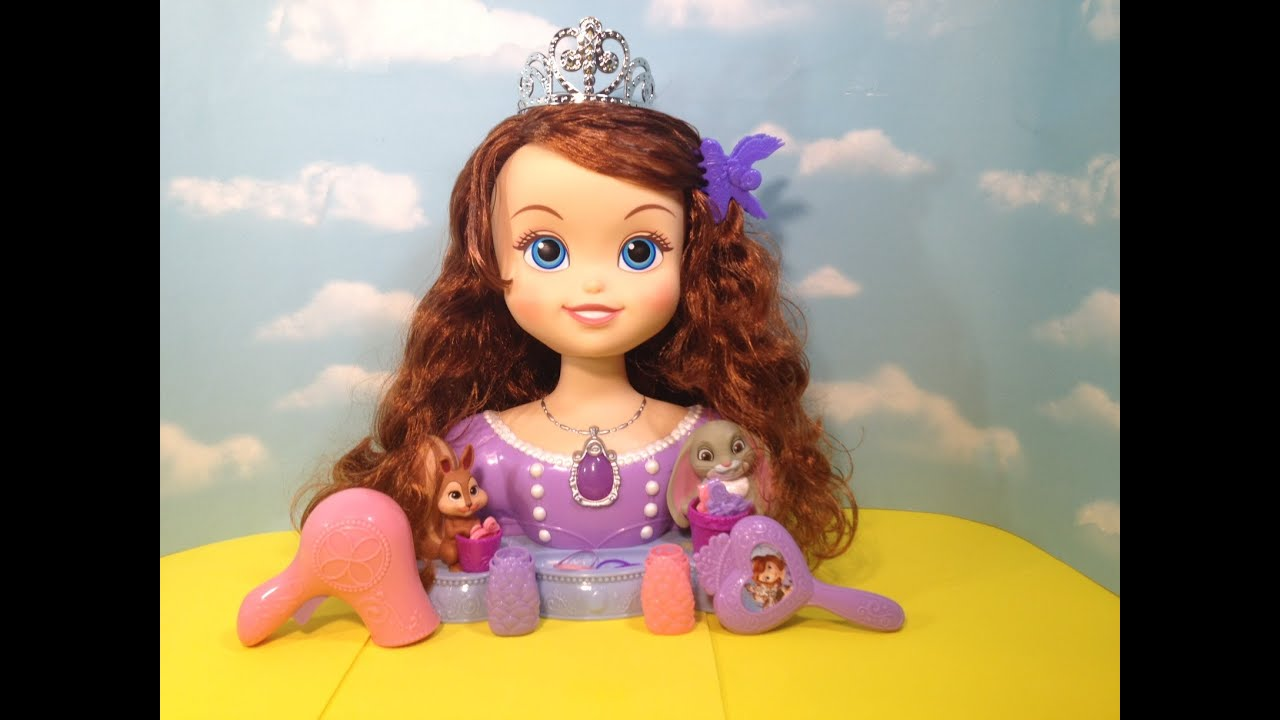 SOFIA THE FIRST Disney Junior Sofia Styling Head A Disney Princess