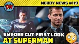 The Eternals Major Leak, Superman First Look, Updated Release Date, Comic-con 2020 | Nerdy News #119
