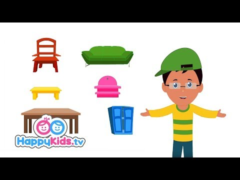Furniture - Learning Songs Collection For Kids And Children | Baby Songs | Happy Kids