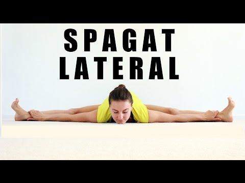 Spagat LATERAL - ejercicios para abrirse de piernas #flexichallenge
