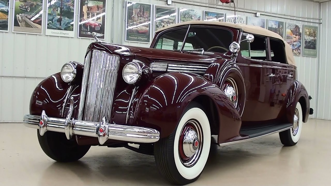 packard 120 convertible world class restoration by manns restoration in festus mo youtube