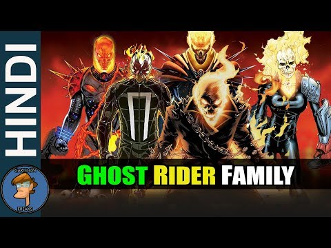 History Of All Ghost Riders Of  Ghost Rider Family In HINDI | CARTOON FREAKS