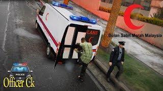 GTA V 大马救护车Bulan Sabit Merah Ambulance | LSGW Ep#5