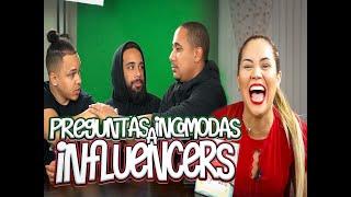 PREGUNTAS INCOMODAS A INFLUENCERS! #preguntasincomodas #influencers