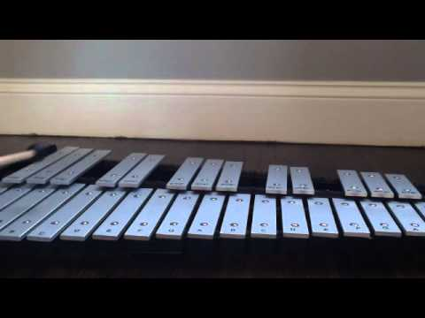 We Wish you a Merry Christmas using a xylophone! - YouTube