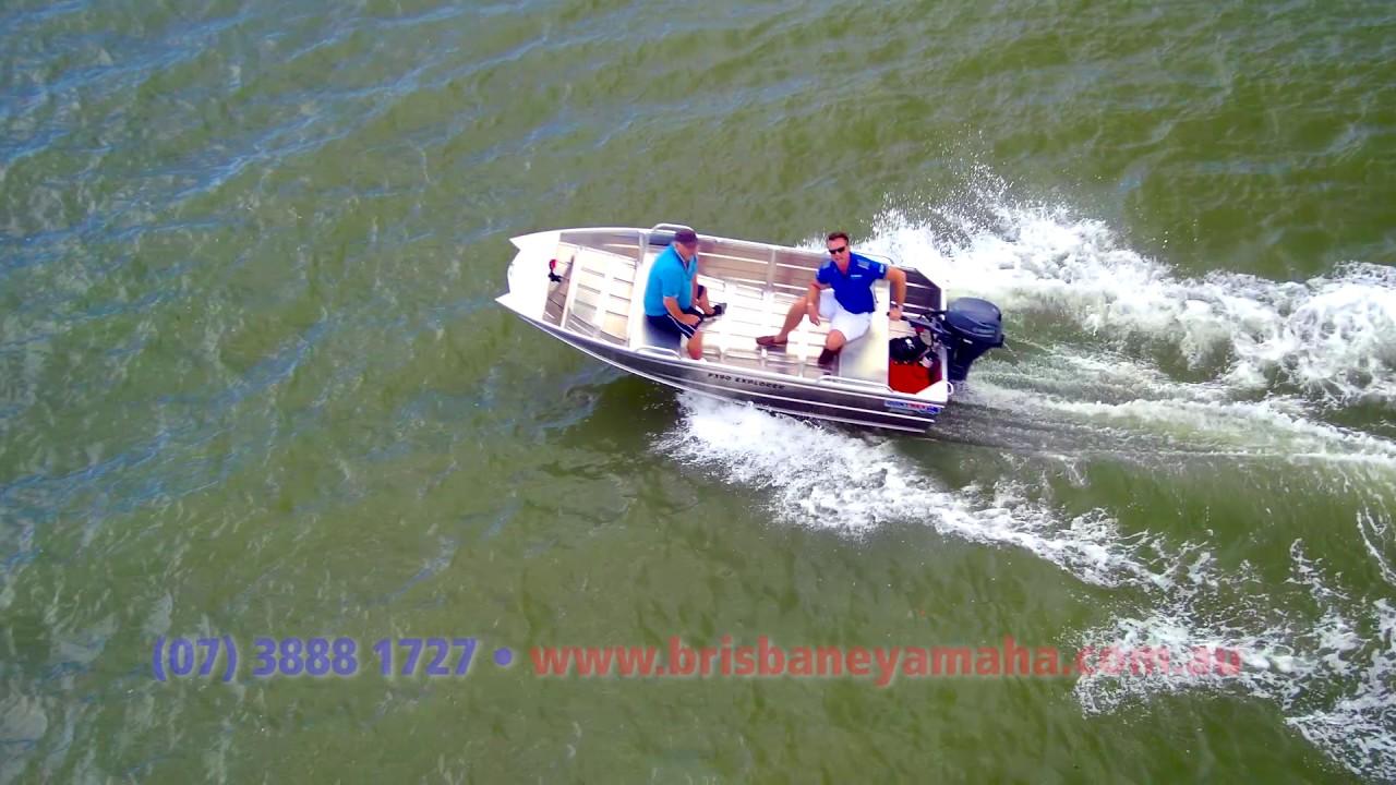 Quintrex F390 Explorer 2017 + Yamaha 20HP 4-stroke boat review   Brisbane  Yamaha