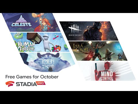 October's New Free Stadia Pro Games