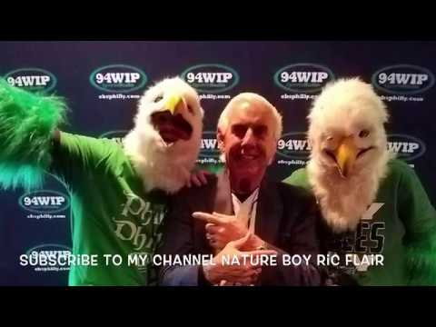 Ric Flair Returns To The Philly Wing Bowl- Behind The Scenes Video