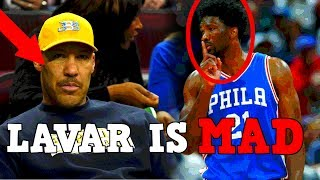 The most insulting thing lavar ball said about joel embiid