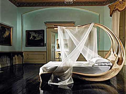 Elegant Canopy Bed by Joseph Walsh