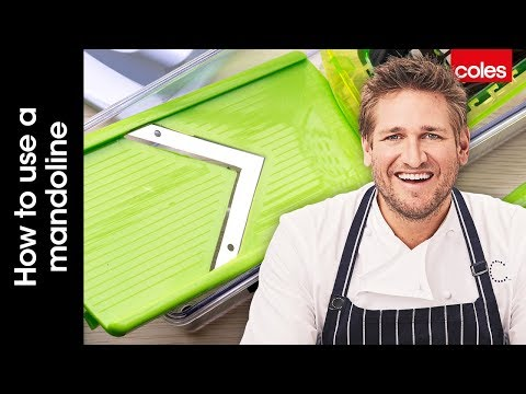 How To Use A Japanese Mandoline With Curtis Stone