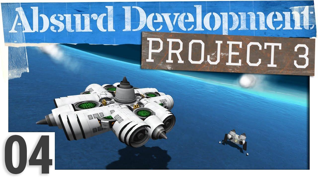 Flying Saucer UNDERWATER!   Absurd Development, Project 3, Ep 04