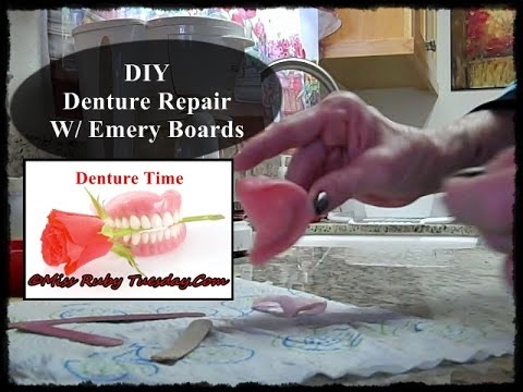 Miss ruby tuesday denture time diy denture palate repair with miss ruby tuesday denture time diy denture palate repair with emery boards solutioingenieria Image collections