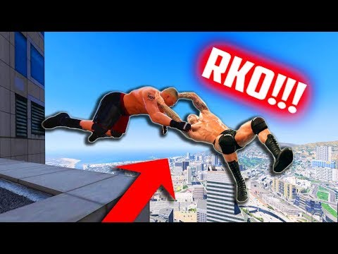 NAJBOLJI WWE MOMENTI U GTA 5 !! :O
