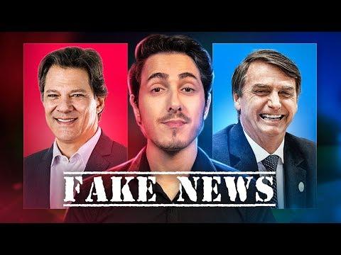As FAKENEWS de Bolsonaro e Haddad / Canal Nostalgia
