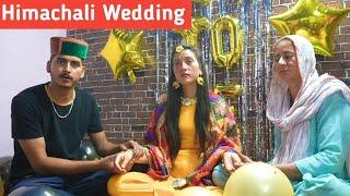 मेहंदी की रसम | Sister's Marriage | Himachali Marriage