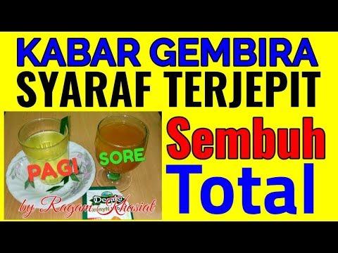 Dokter Terkejut!!Syaraf kejepit Sembuh Total Hanya Rutin Minum ini Setiap Pagi dan Sore