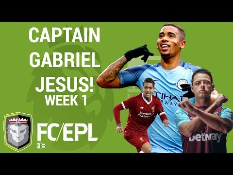 Fantasy Premier League Tips Week #1