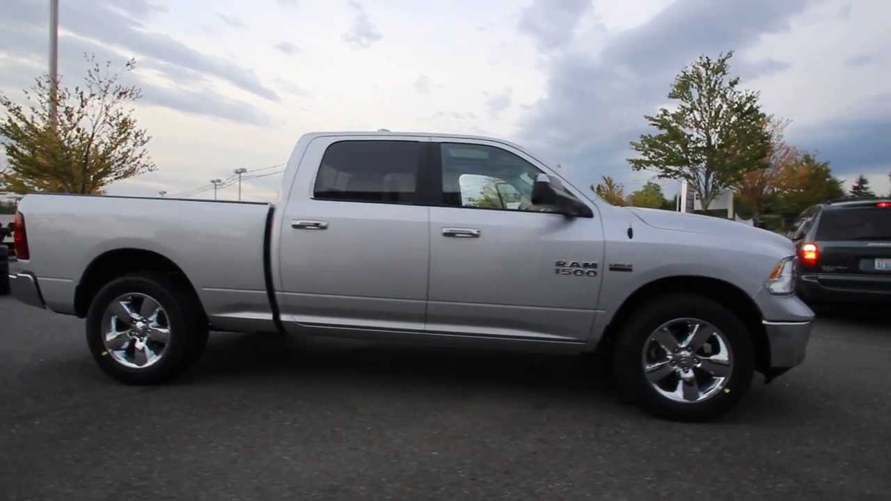 ds710297 2013 dodge ram 1500 big horn crew cab dcjofmonroe bright silver youtube. Black Bedroom Furniture Sets. Home Design Ideas