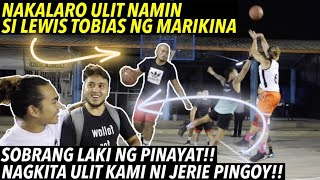 NAKALARO ULIT NAMIN SI TOBIAS NG MARIKINA - MAY BAGO TAYONG LIGA | S.2. vlog 182