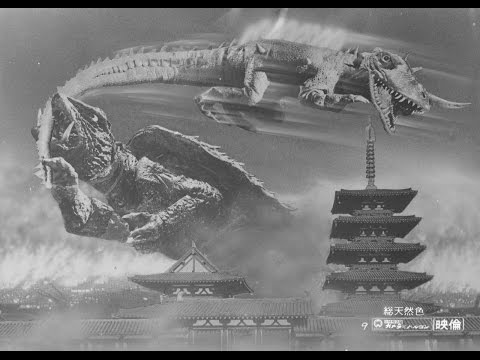 Monster Movie Reviews - Gamera vs Barugon (1966)