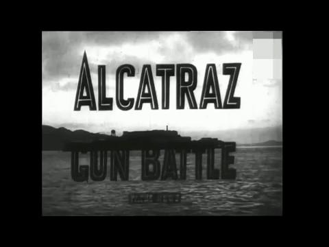 """Battle of Alcatraz"" Vintage Newsreel (1946)"