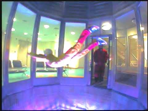 Indoor Skydiving at Abu Dhabi Health and Fitness Club
