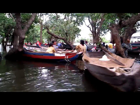 Tonle Sap Lake and Floating Fishing Village Cambodia / Tonle Sap Lake - Cambodia