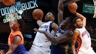 DTB's Top 100 Dunks of the 2018-19 NBA Season (2018-19 Season Dunkilation)