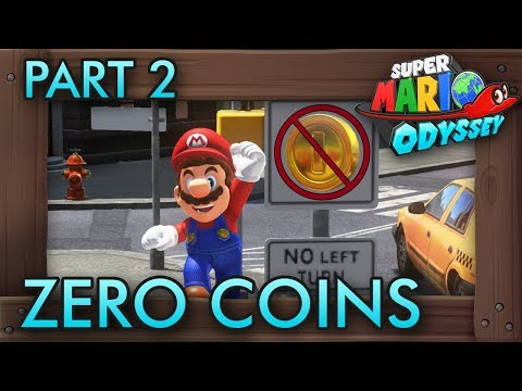 Super Mario Odyssey Without Collecting Any Coins - Part 2