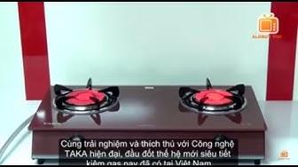 Bếp ga hồng ngoại TAKA TK-HG1 ★   Infrared Burner Gas Stove Cooker