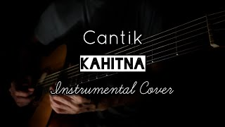 Kahitna - Cantik | Karaoke Acoustic