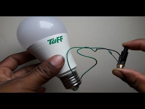 Free Energy Bulb With Peizo Igniter