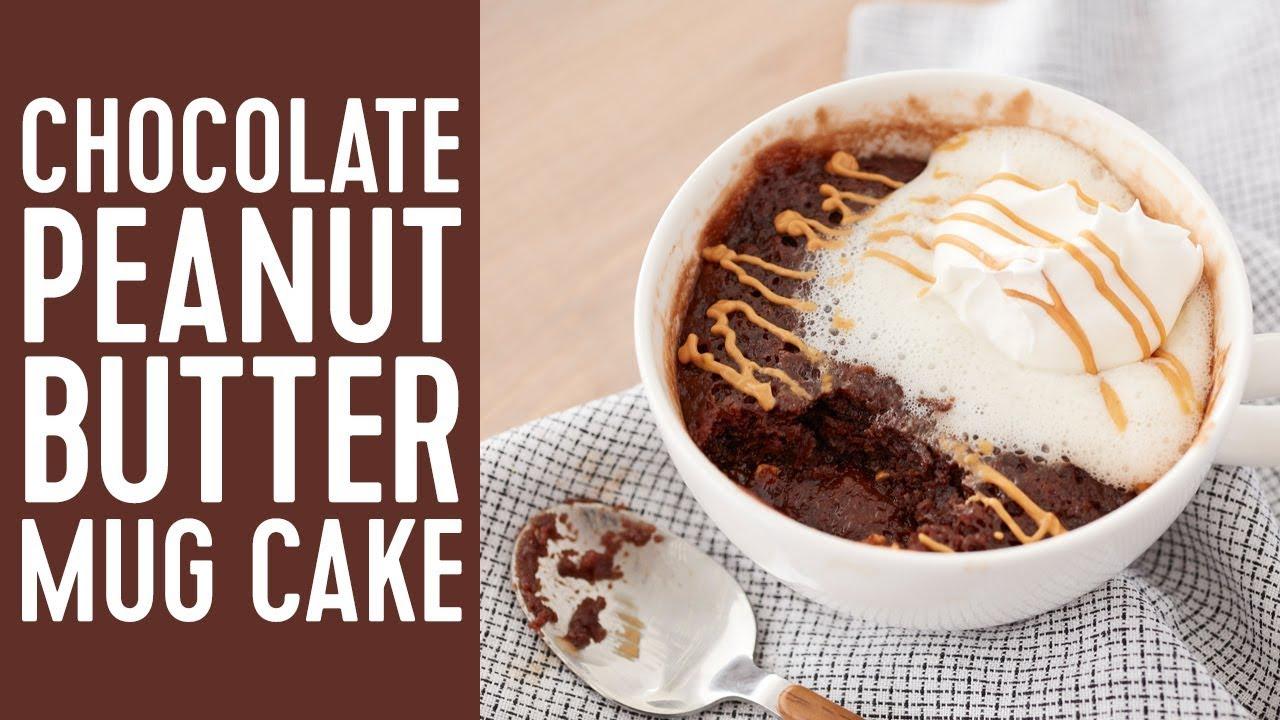 Mug Cake Chocolate Peanut Butter