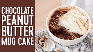How to Make a Chocolate Peanut Butter Mug Cake