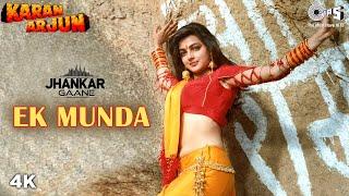 Ek Munda ((Jhankar)) Mamta Kulkarni | Salman Khan | Lata Mangeshkar | Karan Arjun | 90's Songs