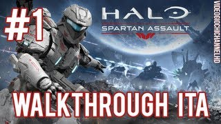 Halo: Spartan Assault Walkthrough ITA - #1: Missioni A1 e A2
