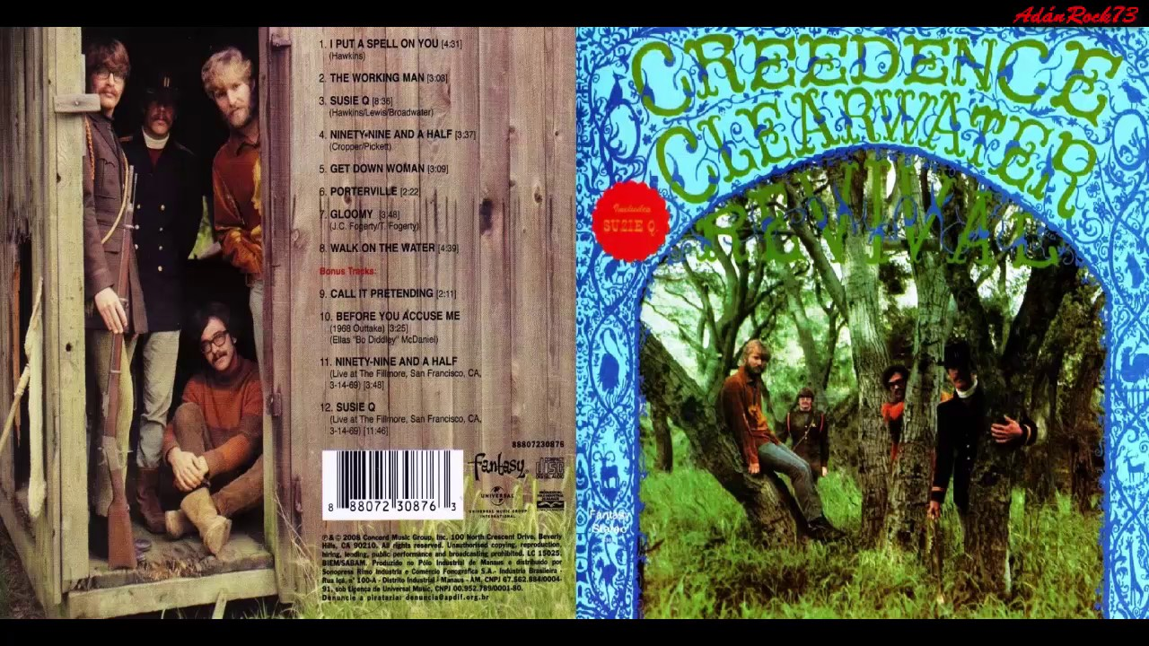 Creedence clearwater revival 40th anniversary edition.