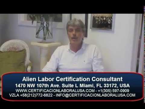 Testimonial de la Certificacion laboral de FERNANDO ALESSI