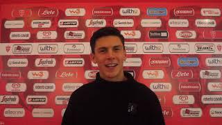INTERVISTA  Matteo Pessina premiato all'U-Power Stadium