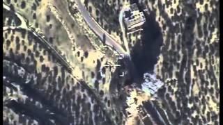Уничтожение бомбардировщиком командного пункта ИГИЛ в провинции ИДЛИБ