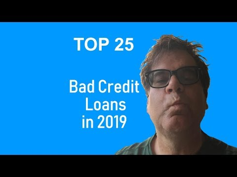 Best Bad Credit Lenders - Unsecured Personal Loans in 2019