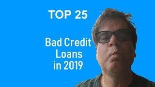 Gambar cover Best Bad Credit Lenders - Unsecured Personal Loans in 2019