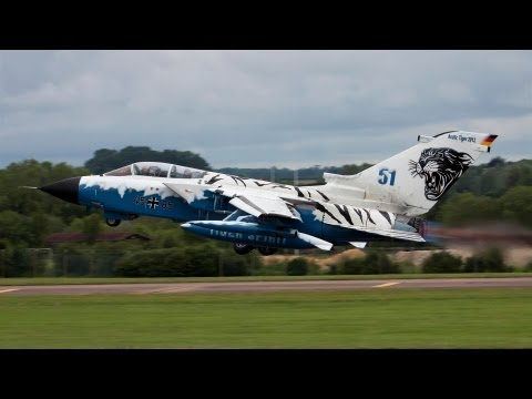 Fairford Departures 2012 With Radio Coms - Airshow World