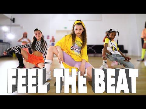 Black Eyed Peas, Maluma - FEEL THE BEAT   Kids Street Dance   Sabrina Lonis Choreo ▶6:21