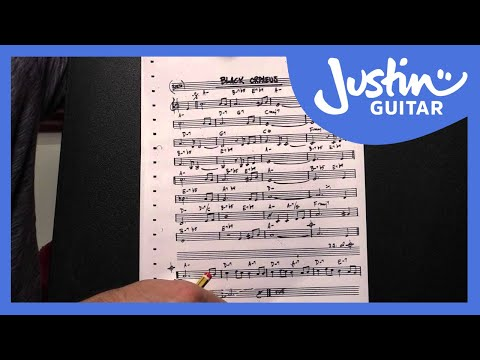How To Read A Jazz Chart - Guitar Lesson - JustinGuitar [JA-006]