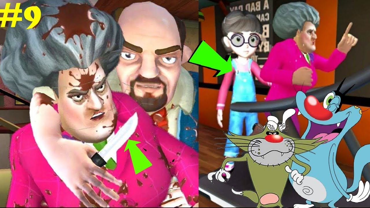 Download SCARY TEACHER 3D Chapter 4  New Update Part 9 Full Android Gameplay   Shade Plays
